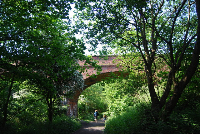 Bridge over the old railway