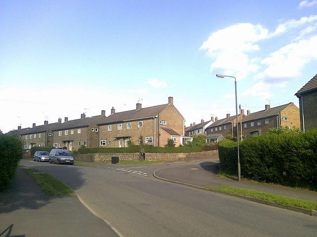 Junction of Hawthorne Avenue and Priorway Avenue, Borrowash
