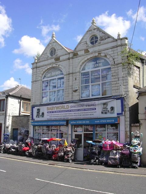 """Babyworld"" 2 Plumbe Street, Burnley, Lancashire BB11 3AA"