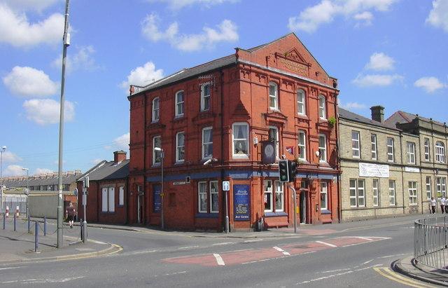 """Brickmakers Arms"" (Pub) 60 Yorkshire Street, Burnley, Lancashire BB11 3BT"