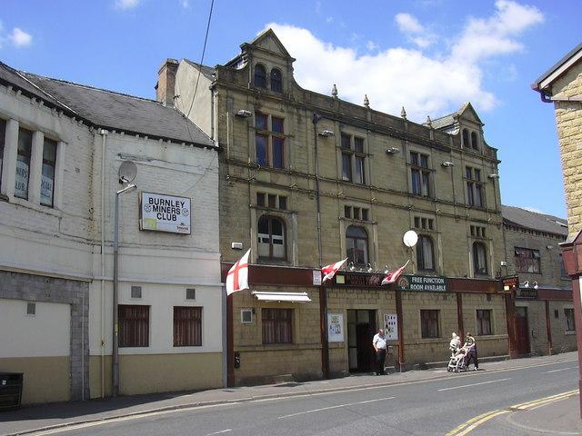 """Burnley Miners Social Club"" 27a Plumbe Street Burnley Lancashire BB11 3AA"