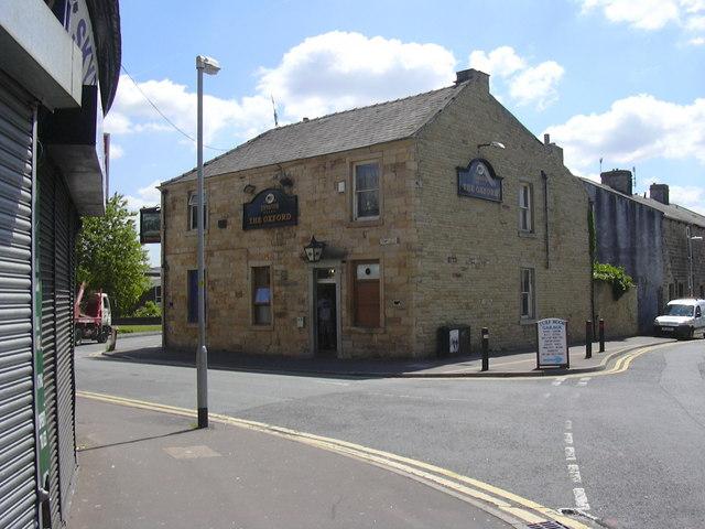 """The Oxford"" (Pub) 1 Temple Street Burnley, Lancashire BB11 3BD"