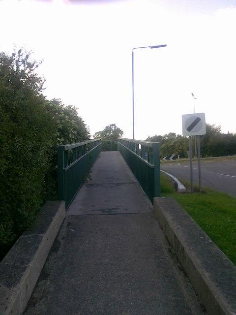 Footbridge over the A52