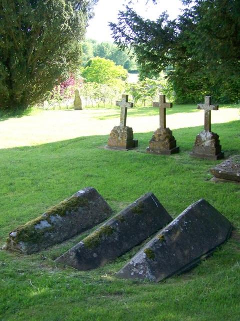 Body tombs, St Mary's Church