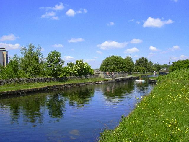 Leeds-Liverpool Canal, Burnley
