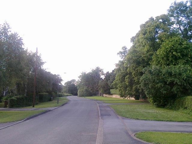 Cole Lane towards Ockbrook