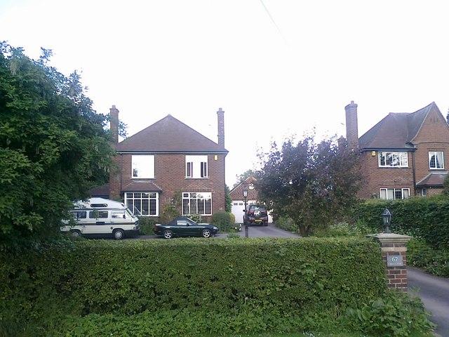 Houses on Cole Lane, Ockbrook