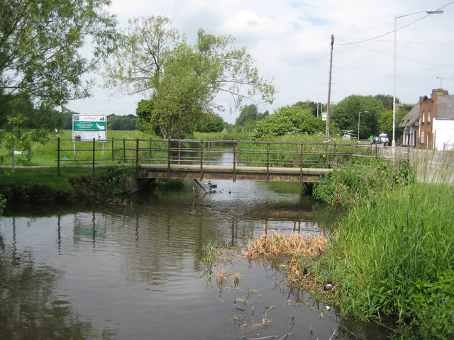 River Purwell at Walsworth Common