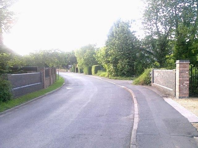 Bridge over the brook on Cole Lane