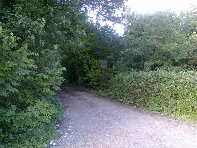 Lane to Church Farm, Ockbrook