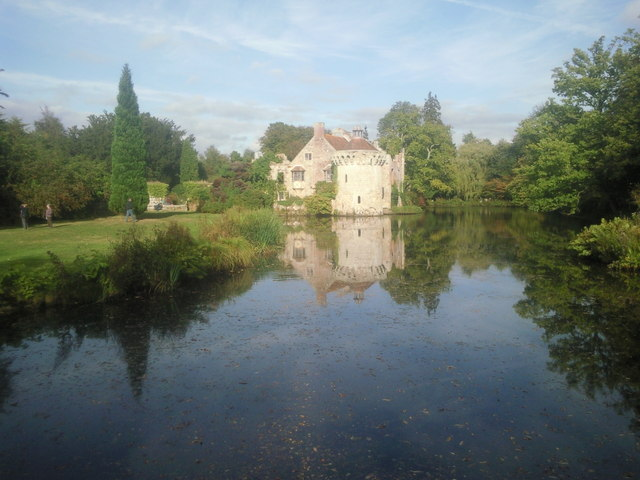Scotney Castle in early autumn