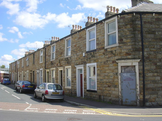 Ash Street, Burnley, Lancashire