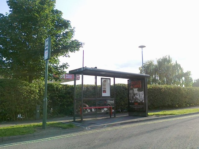 Bus stop on Derby Road, Chaddesden