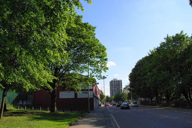 Rochdale Road, Collyhurst