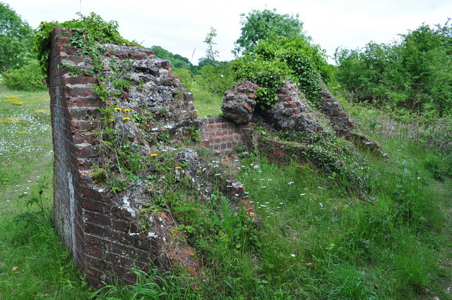The Southern Wall of the Kiln