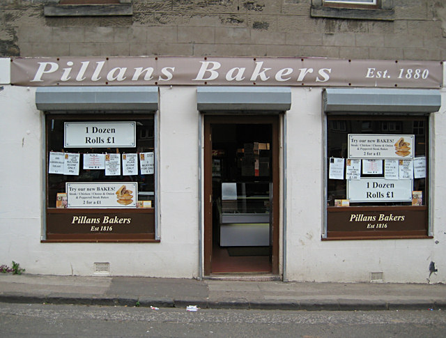 Bakers' shop in Dysart