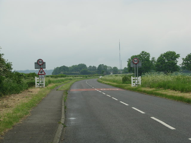 50mph speed limit on this part of the B4027