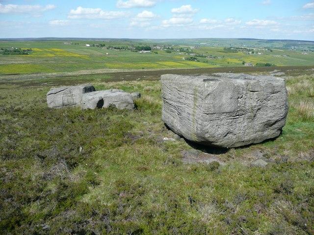 Rocks on Staups Moor, Blackshaw