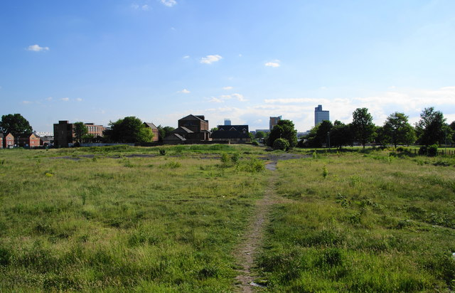A cleared site in Miles Platting