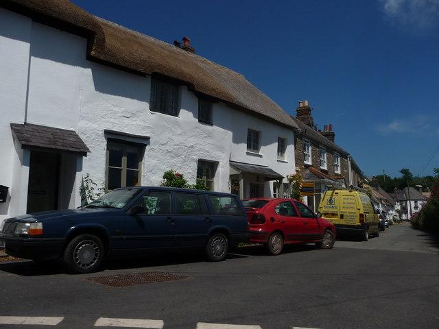 Stokenham : Houses & Road