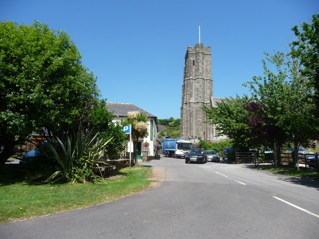 Stokenham : Road & St. Michael & All Angels