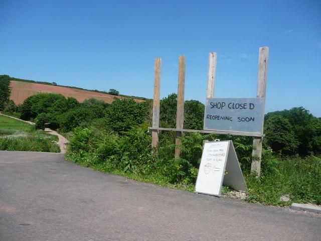 South Hams : Farm Sign