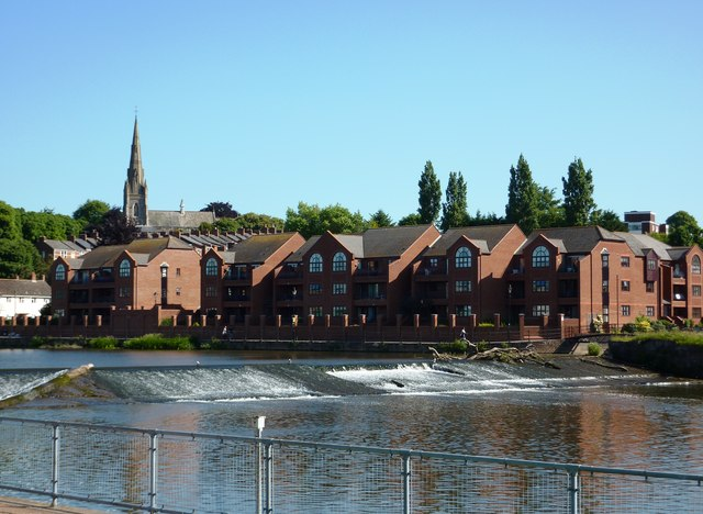 Housing Development, River Exe, Exeter