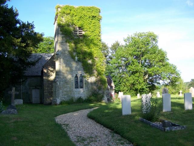 The Church of St Editha, Baverstock