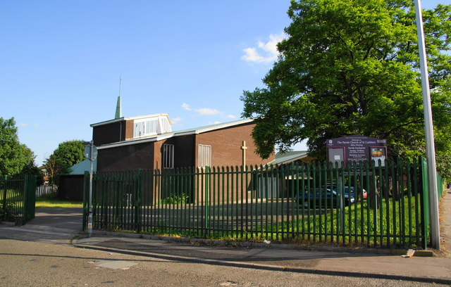 St Cuthbert's Church, Miles Platting
