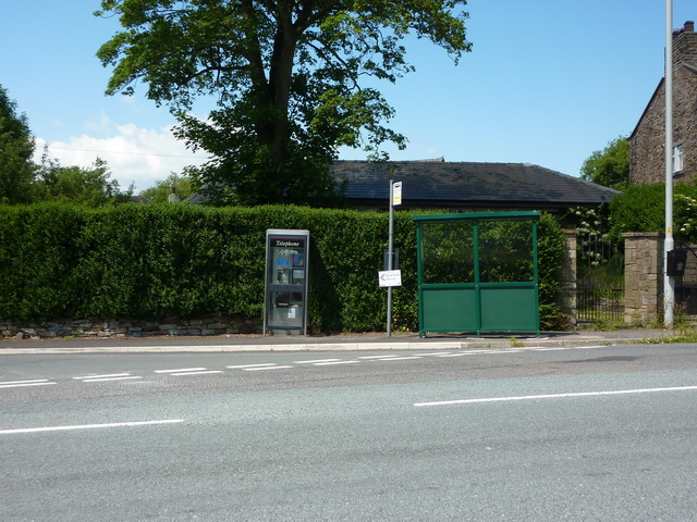 TCB and bus stop near to the Petre Arms