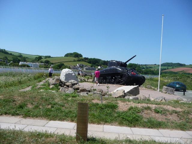 Torcross : Exercise Tiger War Memorial