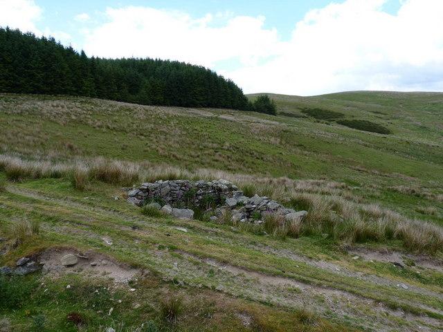 Just east of Bwlch y Garnedd
