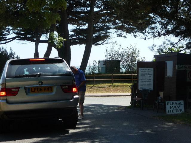 Blackpool Sands : Car Park Pay Centre