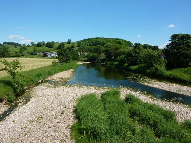 River Ribble as viewed from Sawley Bridge