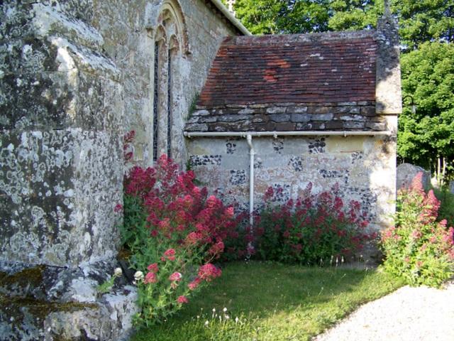 Valerian, The Church of St Editha