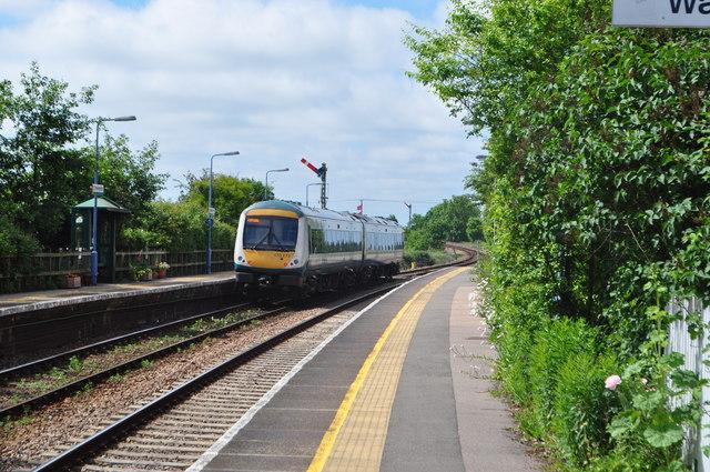 National Express Unit 170272 passes Somerleyton