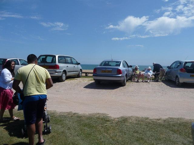 Blackpool Sands : Beach Car Park