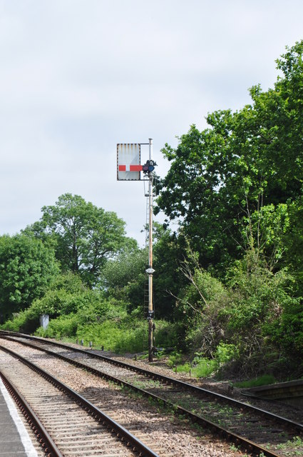 Semaphore Signal at Somerleyton