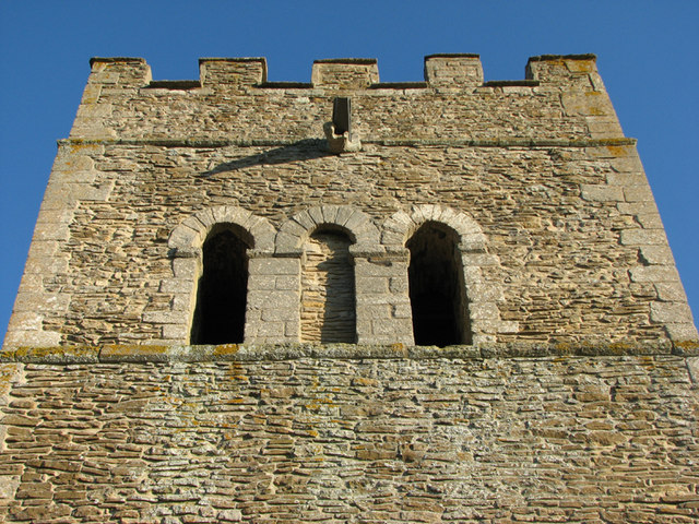 Tixover: St Luke - the Norman tower