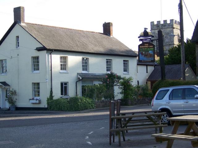 Village scene, Barford St Martin