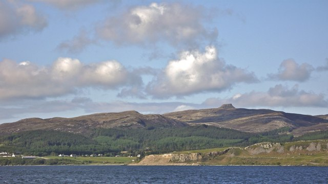 Suisnish Point and Isle of Raasay from the Sconser ferry