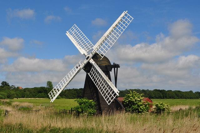 Herringfleet Drainage Smock Mill