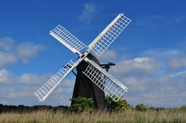 Herringfleet Smock Drainage Wind pump