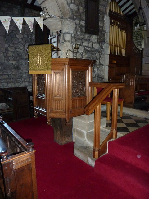 St Peter and St Paul's Church, Bolton-by-Bowland, Pulpit