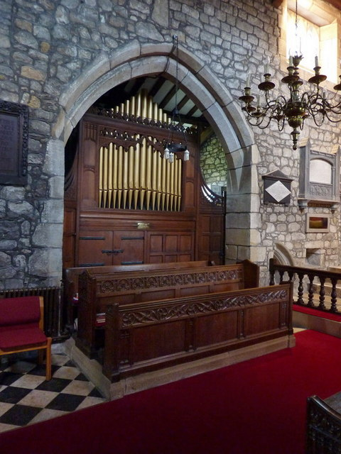 St Peter and St Paul's Church, Bolton-by-Bowland, Organ