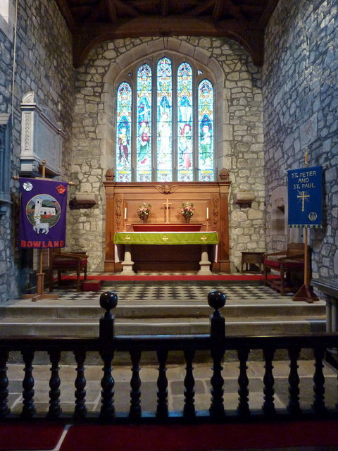 St Peter and St Paul's Church, Bolton-by-Bowland, Interior