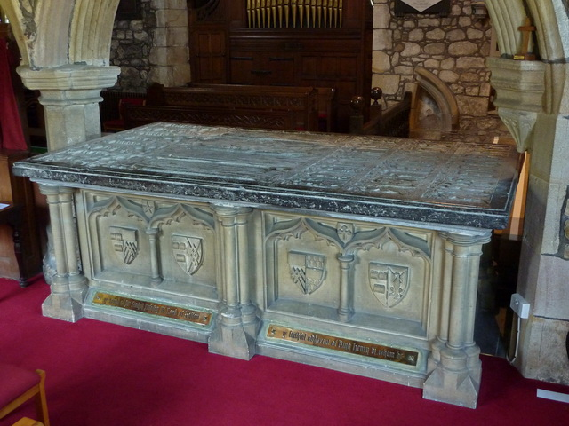 The Tomb of Sir Ralph Pudsay, St Peter and St Paul's Church, Bolton-by-Bowland.