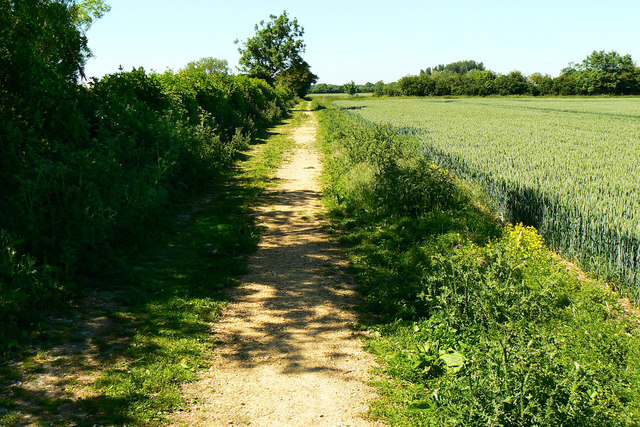 Bridleway from Down Ampney