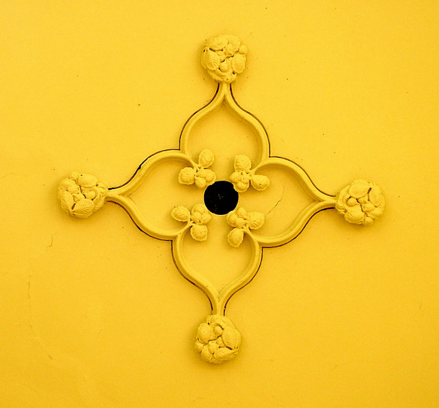 Ceiling detail in 18th century summer house