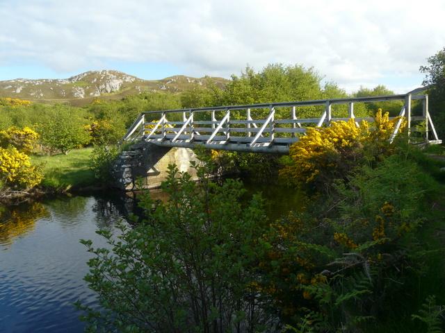 Footbridge over River Borgie